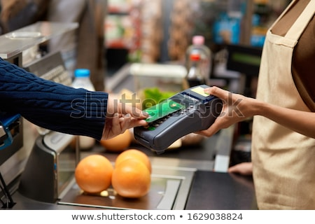 Contact payment terminal Stock photo © Genestro