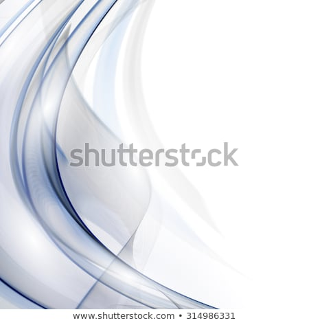 soft smooth blue and gray wave background Stock photo © SArts