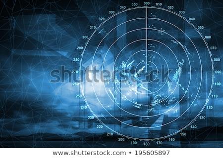 Schip navigatie radar uitrusting groot hemel Stockfoto © franky242