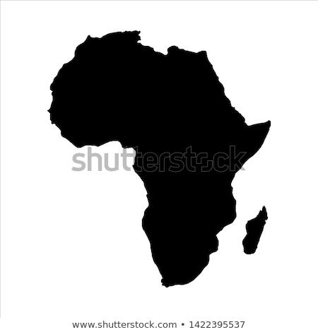 Uganda · szavanna · Afrika · fű · természet · állatok - stock fotó © lirch