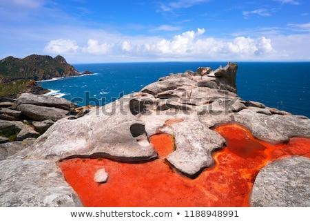 Alto do Principe view point in Islas Cies islands Stock photo © lunamarina