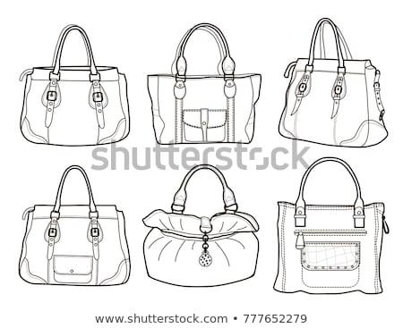 женщины сумочка объект сумку украшенный Сток-фото © robuart