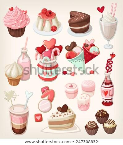 Sorpreso cartoon gelatina jar illustrazione guardando Foto d'archivio © cthoman