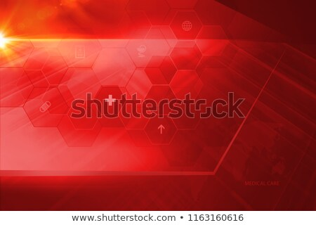 health medical red background Stock photo © alexaldo