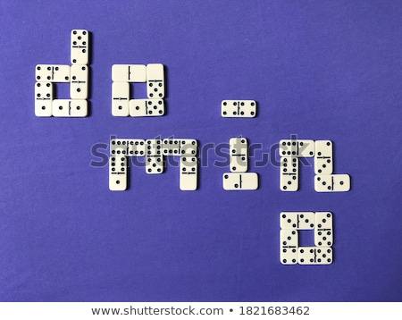 Dominoes, Domino Tile-Based Game Stock photo © olivier_le_moal