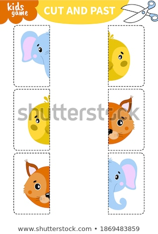 K is for educational game for children Stock photo © izakowski