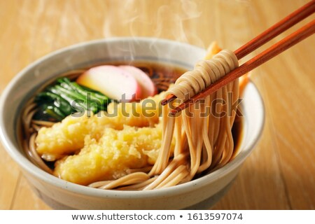 Seafood tempura dish of traditional asian cuisine. stock photo © artsvitlyna