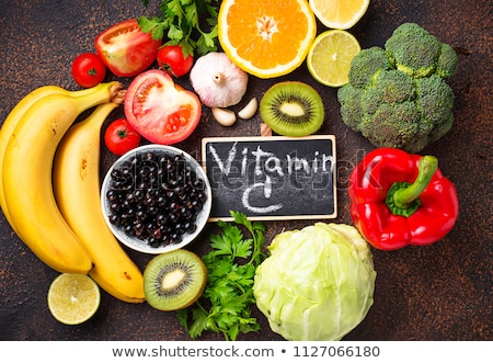 Food containing vitamin C. Healthy eating Stock photo © furmanphoto