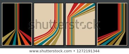 eighties retro background stock photo © studiostoks