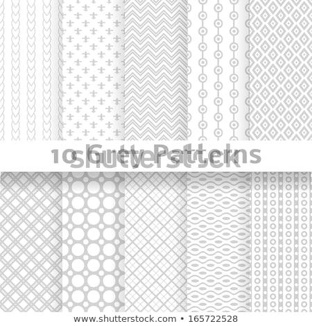 abstrato · sem · costura · retro · ziguezague · ornamento · padrão - foto stock © iaroslava