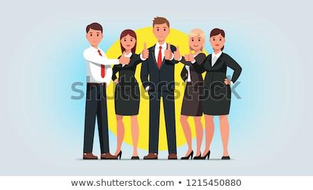男 女性 ビジネス 卓越 人 マネージャ ストックフォト © robuart