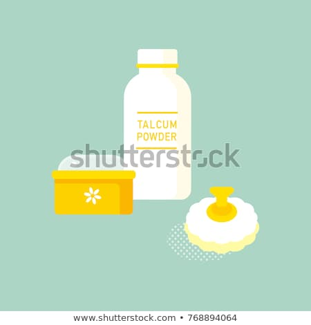 vector set of body powder stock photo © olllikeballoon