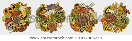 Beer fest concept vector illustration. Stock photo © RAStudio