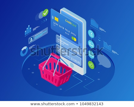 Online winkelen digitale tablet laptop ecommerce Stockfoto © sgursozlu