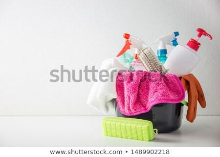 Casa equipamentos de escritório ilustração negócio escritório caneta Foto stock © bluering