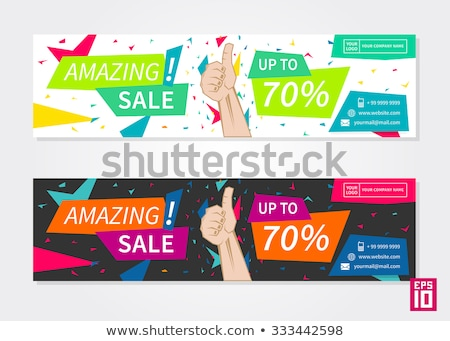 Mega Discount on Best Price, Buy Now Deal Bargain Stock photo © robuart