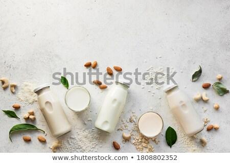бутылку орех кешью молоко стекла Top мнение Сток-фото © Alex9500