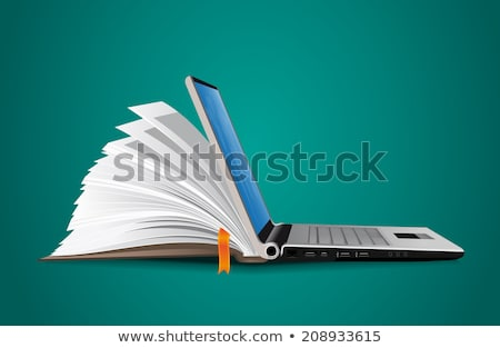 Information technology courses concept vector illustration stock photo © RAStudio