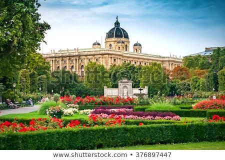 Vienne Autriche peuples jardin public parc Photo stock © borisb17