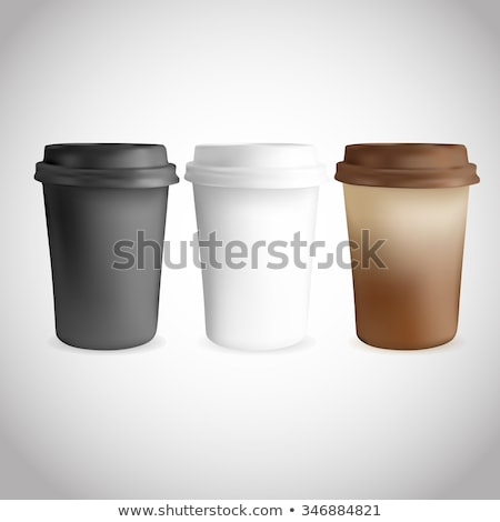 Takeaway Cup for Coffee, Arabic Beverage Vector Stock photo © robuart