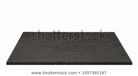 Wooden cutting board with natural edge isolated on white Stock photo © Digifoodstock
