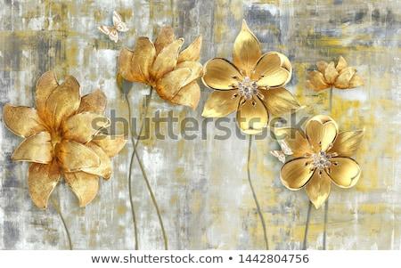 3D 花 装飾 文字 スペース ストックフォト © SArts