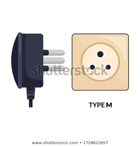 triple socket outlet Stock photo © FOKA