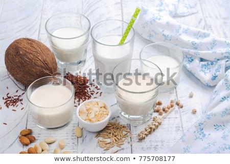 Non dairy vegan soy bean milk Stock photo © furmanphoto