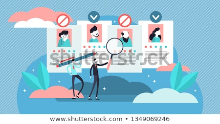 Ageism social problem abstract concept vector illustration. Stock photo © RAStudio