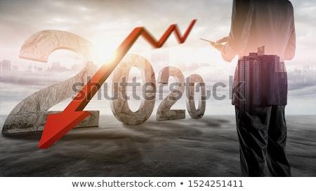 рецессия деловой человек пусто человека торговых Сток-фото © pkdinkar