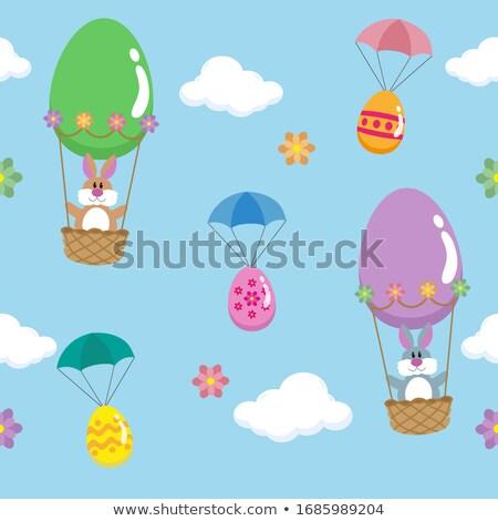 Easter airship Stock photo © sahua
