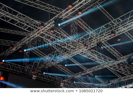floodlights under ceiling Stock photo © Paha_L