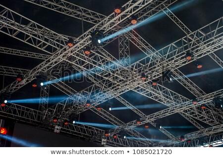 soffitto · illuminazione · elettricista · alimentatore · lavoro · lavoro - foto d'archivio © paha_l