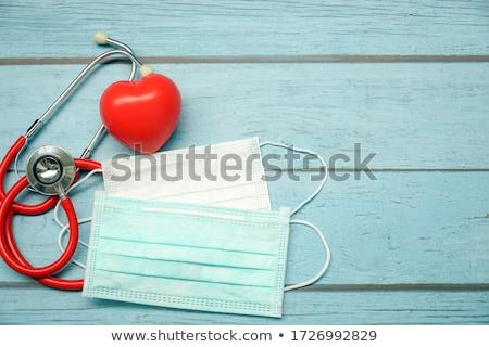 Attacco di cuore view uomo sport salute rosso Foto d'archivio © 4designersart