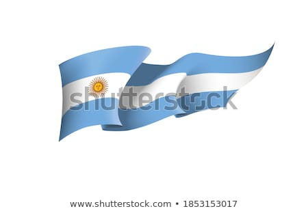 Vlag vlaggestok wind golf witte Stockfoto © lalito