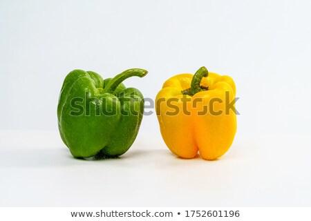 赤 · 唐辛子 · 泡 · 食品 · フルーツ · 緑 - ストックフォト © studiotrebuchet