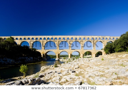 Pont du Gard, Languedoc-Roussillon, France Stock photo © lightpoet