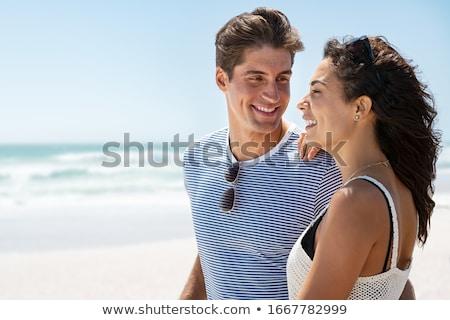 uomo · sorridere · felice · panorama · capelli - foto d'archivio © photography33