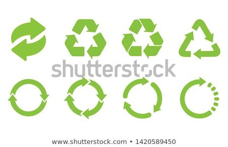 символ черный безопасности загрязнения мусора новых Сток-фото © pashabo