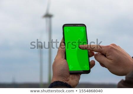 Tech · ветер · аннотация · Лучи · темно · дым - Сток-фото © photography33