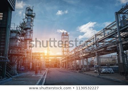 Ipari üzlet város üveg városi bank Stock fotó © konradbak