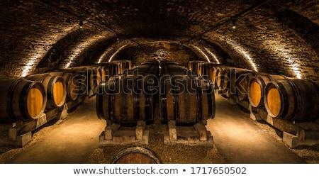 Winery Cellar Barrels Stock photo © ArenaCreative