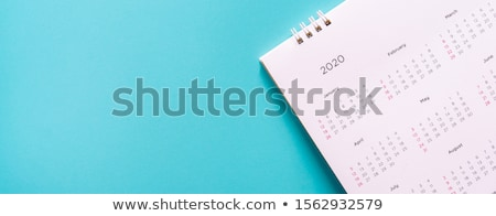 Secretaris agenda kantoor glimlach pen schoonheid Stockfoto © photography33