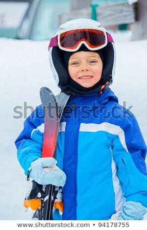 Junior skier. Stock photo © macsim