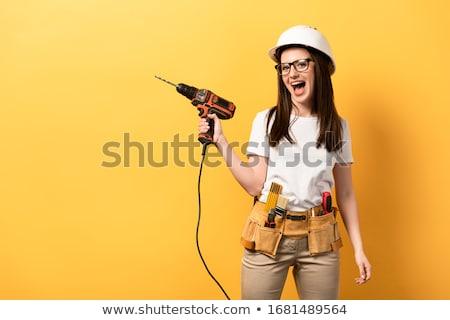 elektromos · motor · férfi · dolgozik · felszerlés · javítás - stock fotó © photography33