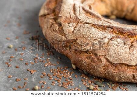 Rústico pan anillo alimentos naranja trigo Foto stock © photography33