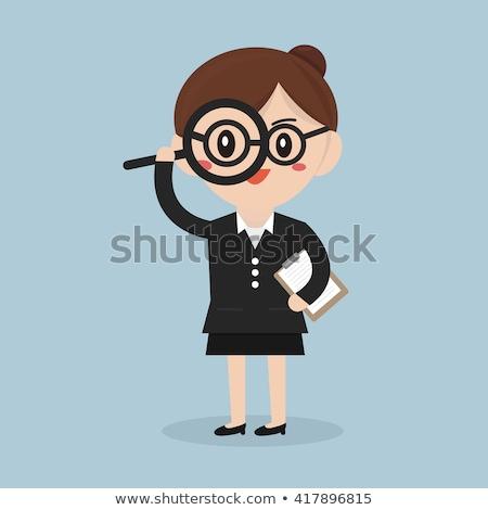 inspection businesswoman Stock photo © jarp17