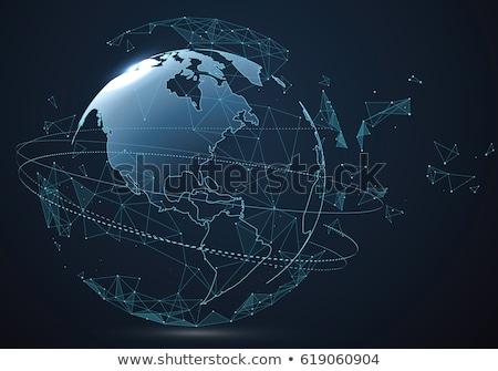 wereldbol · muis · metaal · aarde · surfen · winkel - stockfoto © 4designersart