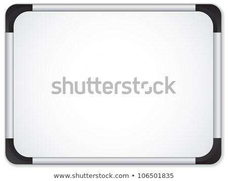 Metaal grens bericht vector leraar Stockfoto © gubh83