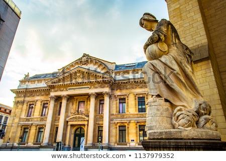 Brüsszel otthon Belgium tőzsde építészet Európa Stock fotó © chrisdorney